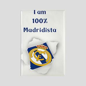 Madridista Rectangle Magnet