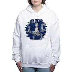 Little Rococo mermaid Women's Hooded Sweatshirt