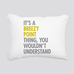 Breezy Point Queens NY T Rectangular Canvas Pillow