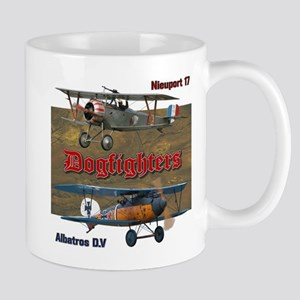 Dogfighters: Nieuport vs Albatros D.V Mug