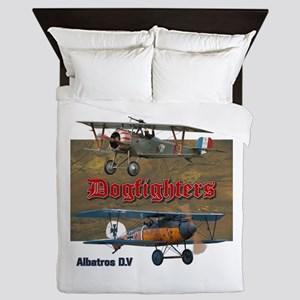 Dogfighters: Nieuport vs Albatros D.V Queen Duvet