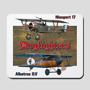 Dogfighters: Nieuport vs Albatros D.V Mousepad