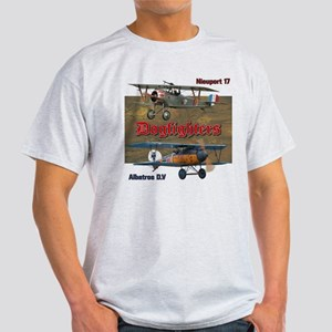 Dogfighters: Nieuport vs Albatros D. Light T-Shirt
