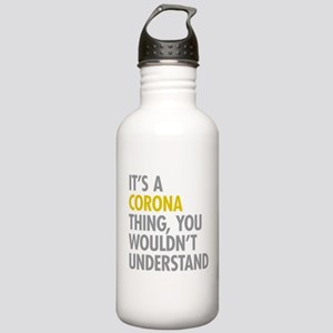 Corona Queens NY Thing Stainless Water Bottle 1.0L