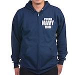 Proud Navy Zip Hoodie