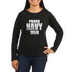 Proud Navy Long Sleeve T-Shirt