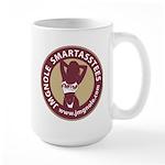 JMGNole SmartAssTees circle logo FMFFM Mugs