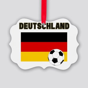 Deutschland Fussball Ornament