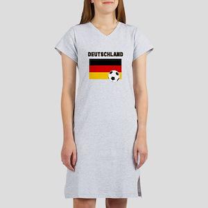 Deutschland Fussball Women's Nightshirt