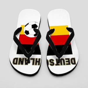 Deutschland Fussball Flip Flops