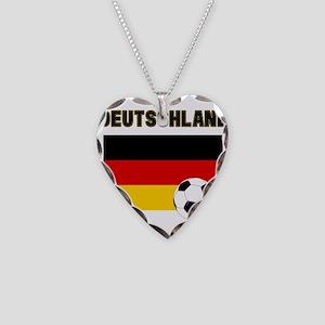 Deutschland Fussball Necklace