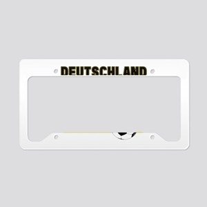 Deutschland Fussball License Plate Holder