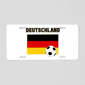 Deutschland Fussball Aluminum License Plate