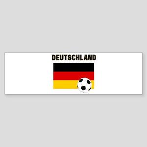 Deutschland Fussball Bumper Sticker