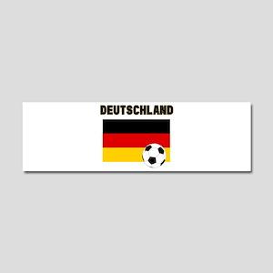 Deutschland Fussball Car Magnet 10 x 3