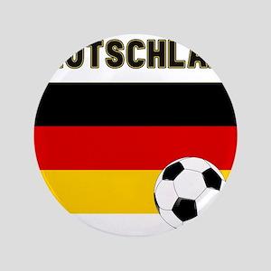 """Deutschland Fussball 3.5"""" Button"""