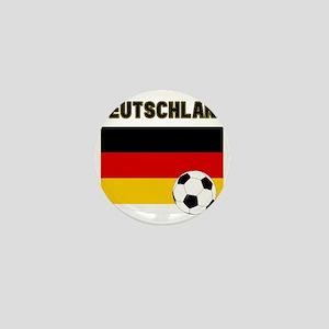Deutschland Fussball Mini Button