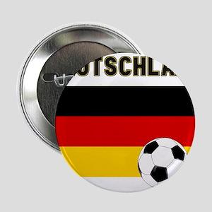 """Deutschland Fussball 2.25"""" Button"""