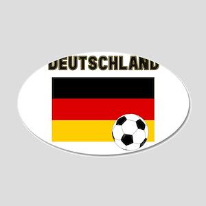 Deutschland Fussball Wall Decal