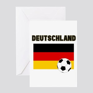 Deutschland Fussball Greeting Cards