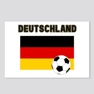 Deutschland Fussball Postcards (Package of 8)