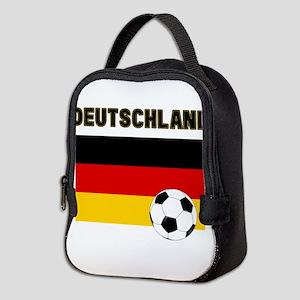 Deutschland Fussball Neoprene Lunch Bag