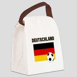 Deutschland Fussball Canvas Lunch Bag