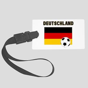 Deutschland Fussball Luggage Tag