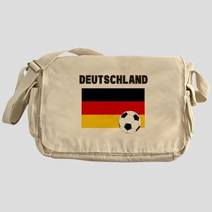 Deutschland Fussball Messenger Bag
