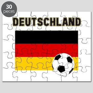 Deutschland Fussball Puzzle