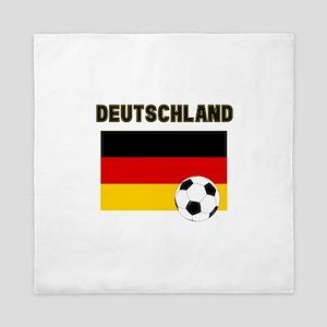 Deutschland Fussball Queen Duvet