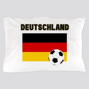 Deutschland Fussball Pillow Case