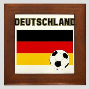 Deutschland Fussball Framed Tile
