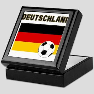 Deutschland Fussball Keepsake Box