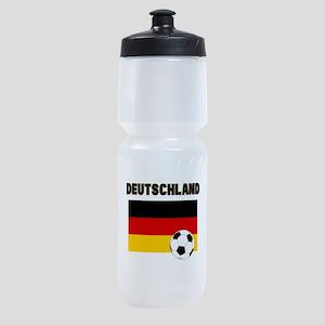 Deutschland Fussball Sports Bottle