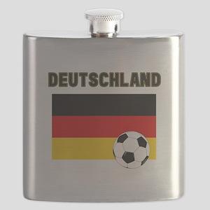 Deutschland Fussball Flask