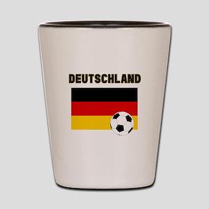 Deutschland Fussball Shot Glass