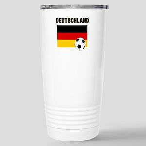 Deutschland Fussball Travel Mug