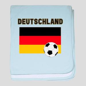 Deutschland Fussball baby blanket