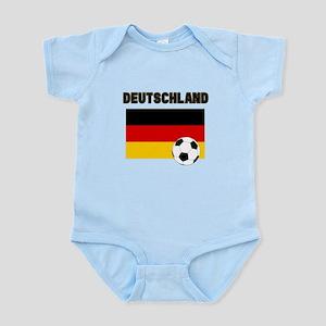Deutschland Fussball Body Suit