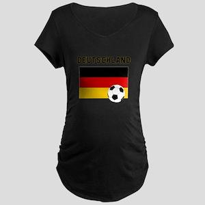 Deutschland Fussball Maternity T-Shirt
