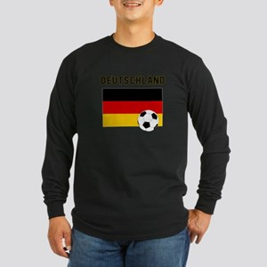 Deutschland Fussball Long Sleeve T-Shirt