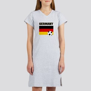 Germany soccer Women's Nightshirt