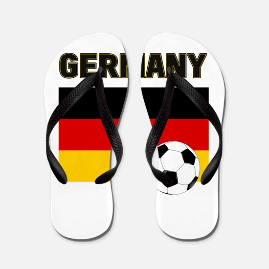 Germany soccer Flip Flops
