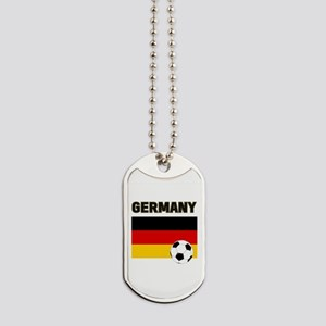 Germany soccer Dog Tags