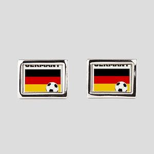 Germany soccer Rectangular Cufflinks