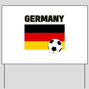 Germany soccer Yard Sign