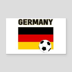 Germany soccer Rectangle Car Magnet
