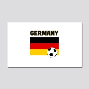 Germany soccer Car Magnet 20 x 12