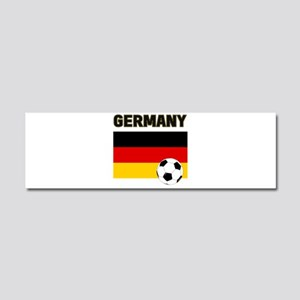 Germany soccer Car Magnet 10 x 3